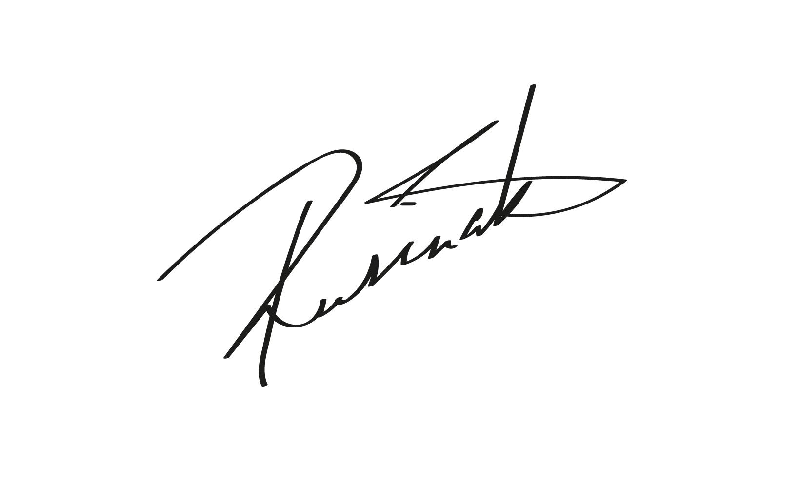 Lucia Rusinakova Signature