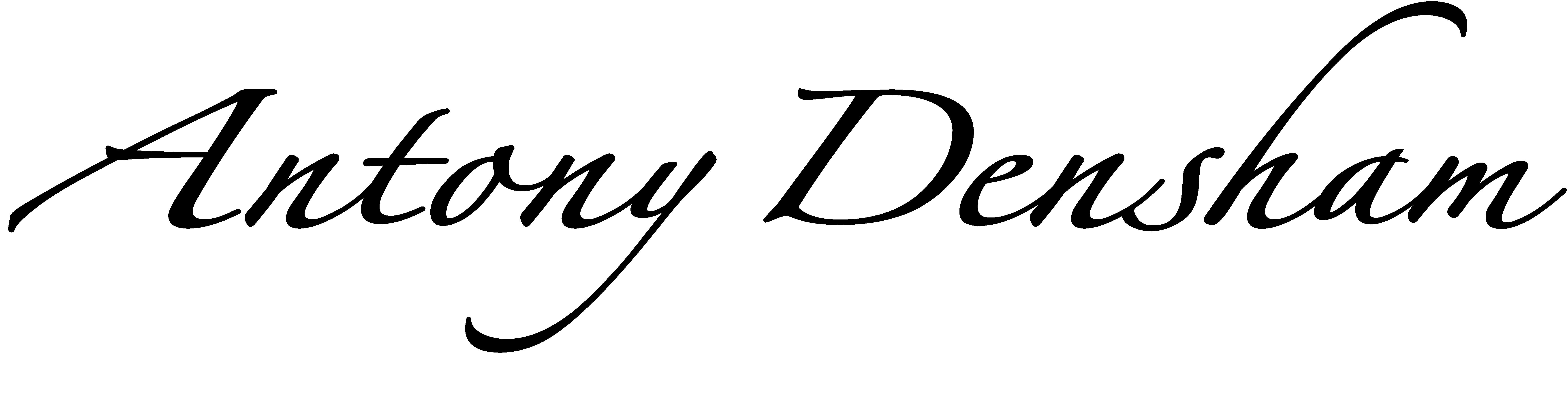 Antony Densham Signature