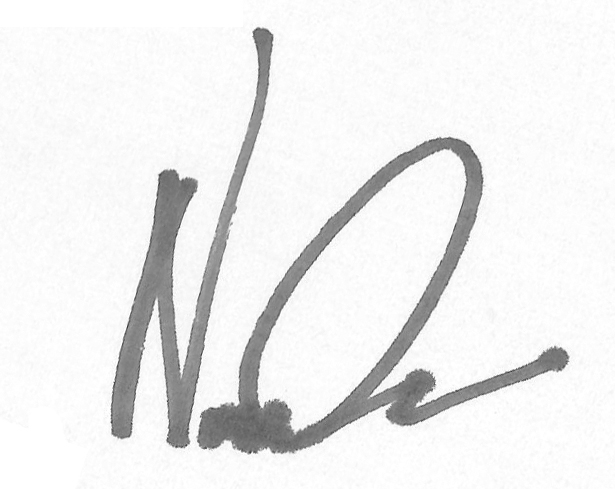 Nicolas Cascarano Signature