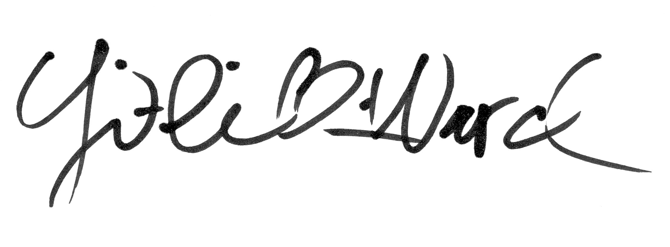 Yi-li Chin Ward Signature