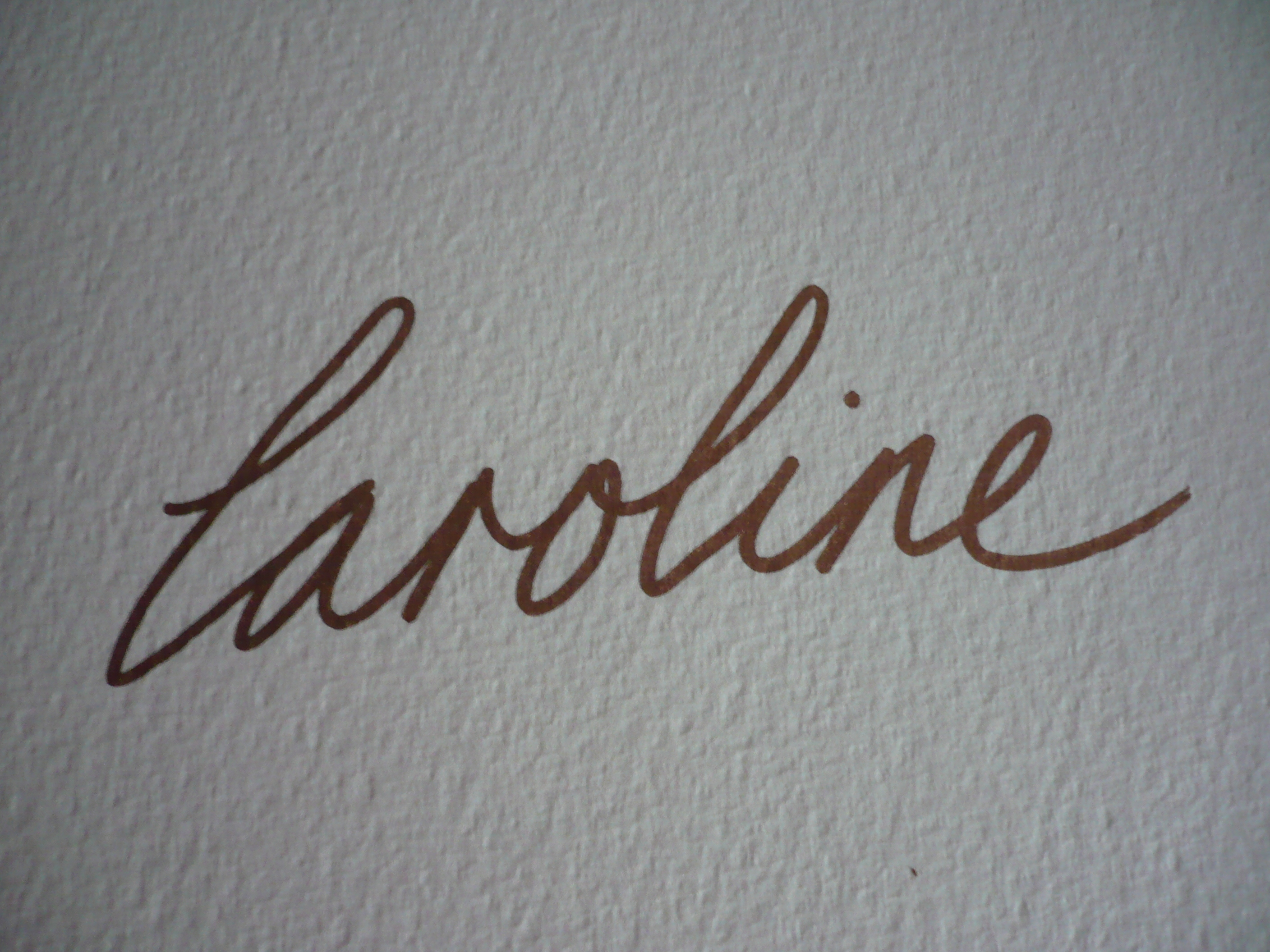 Caroline Philp Signature