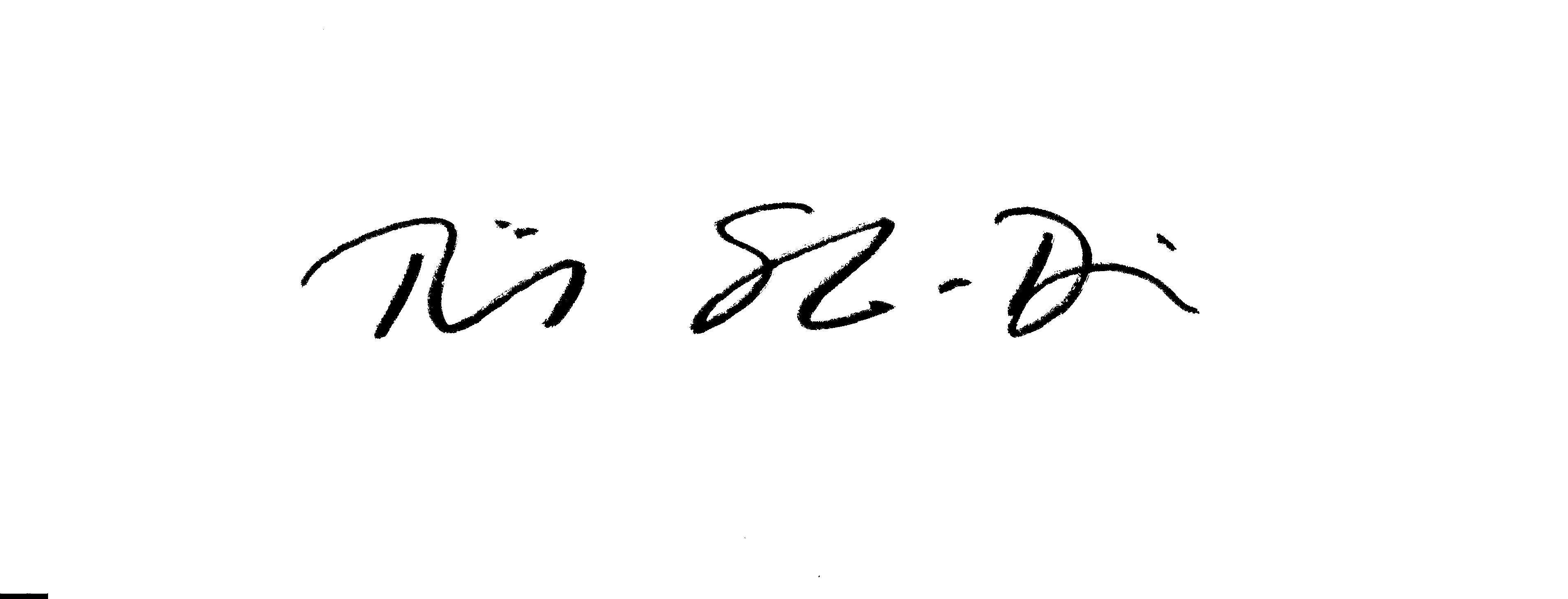 Tiina Salo-Devries Signature