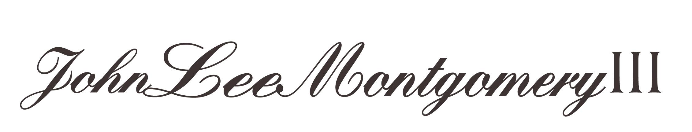 John Lee Montgomery III Signature