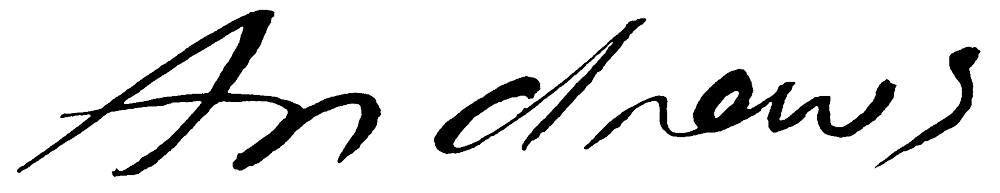 Annabel Andrews Signature