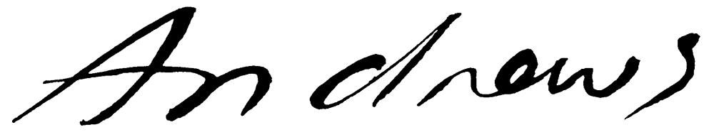 Annabel Andrews Signature