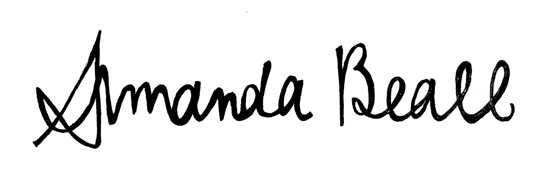 Amanda Beall Signature