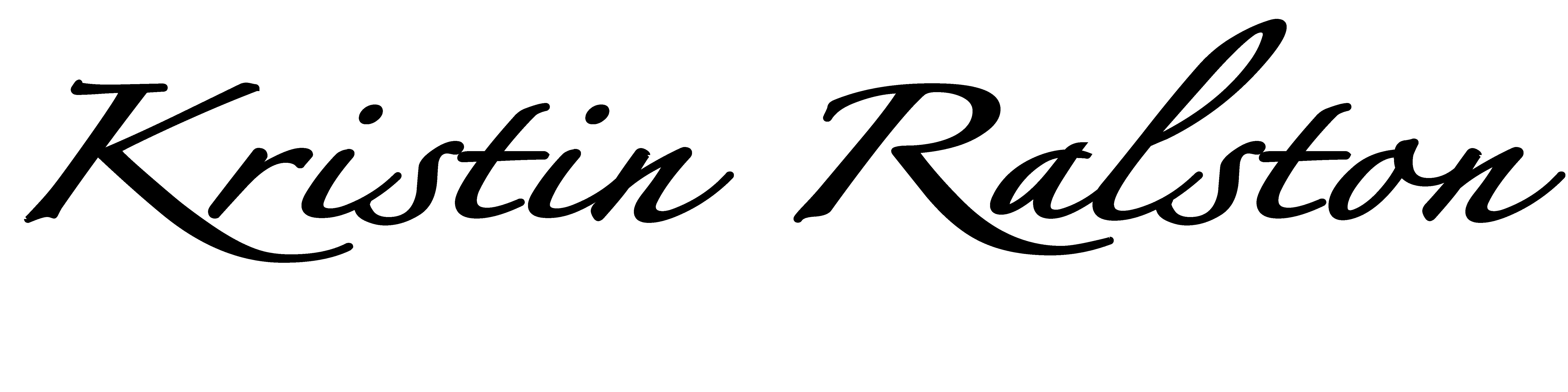 kristin ralston Signature