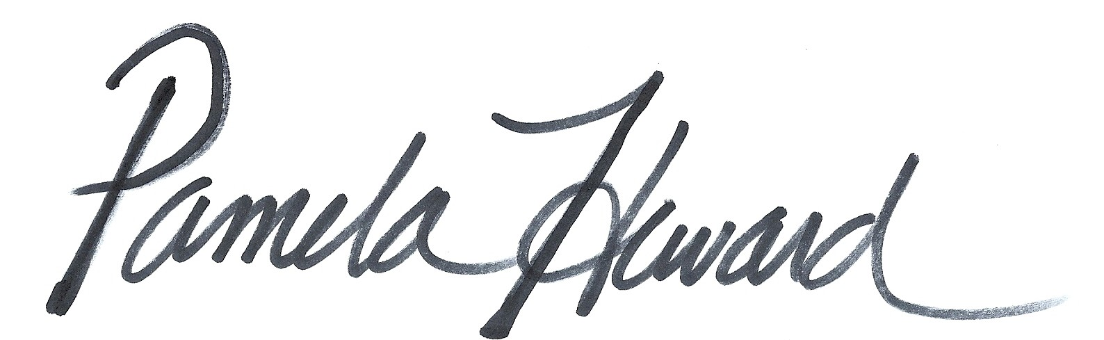 Pamela Heward Signature