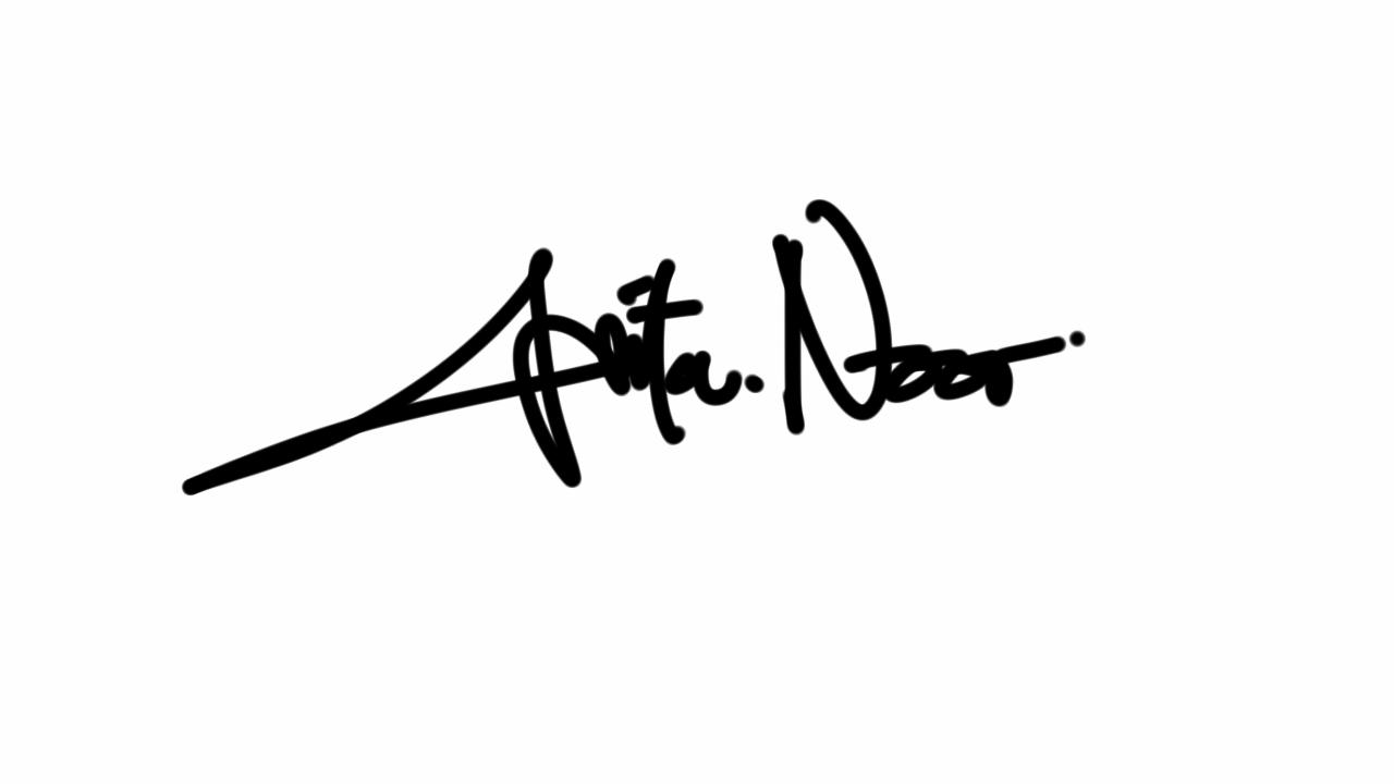 Anita Noor Aprilia Signature