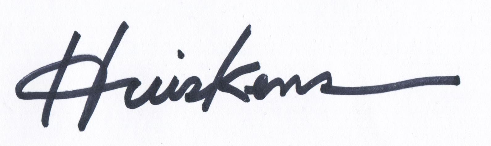 Randal Huiskens Signature