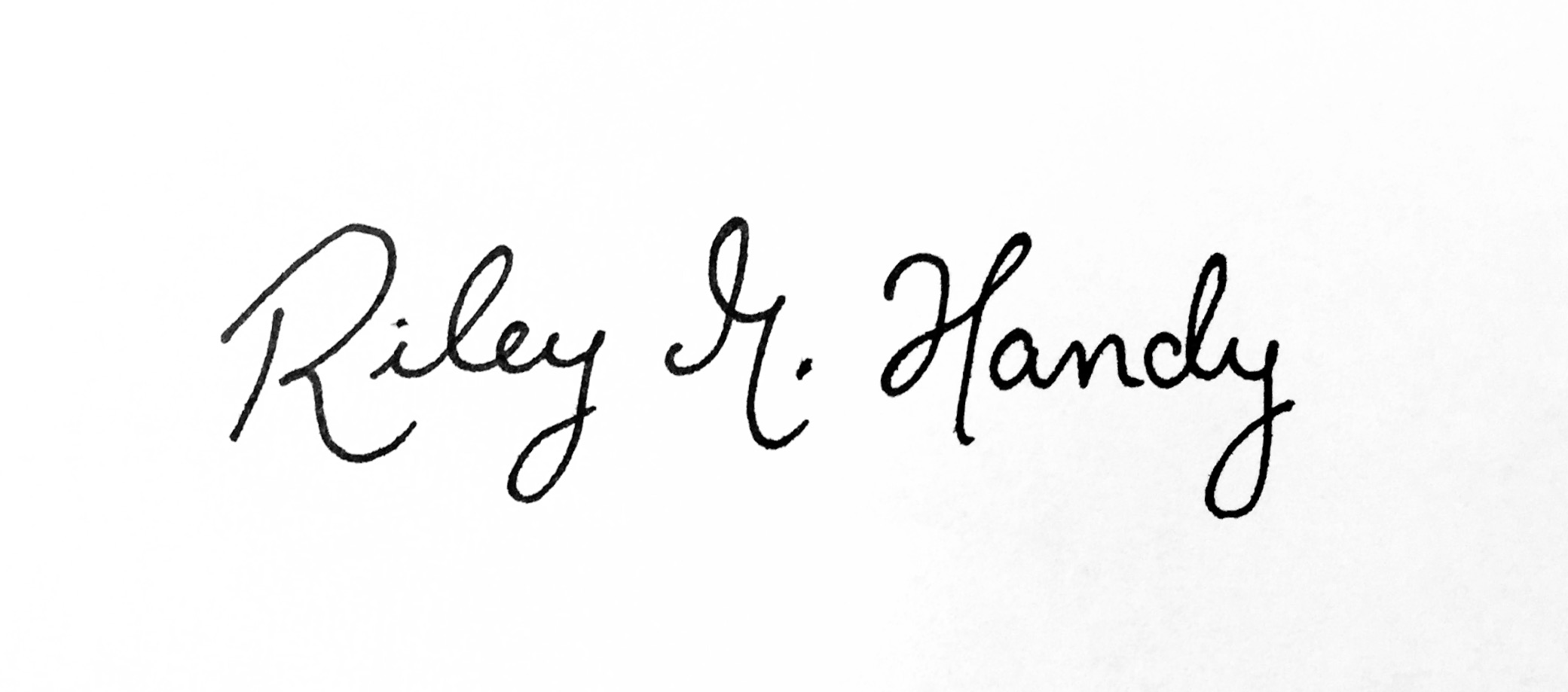 Riley marie Handy Signature