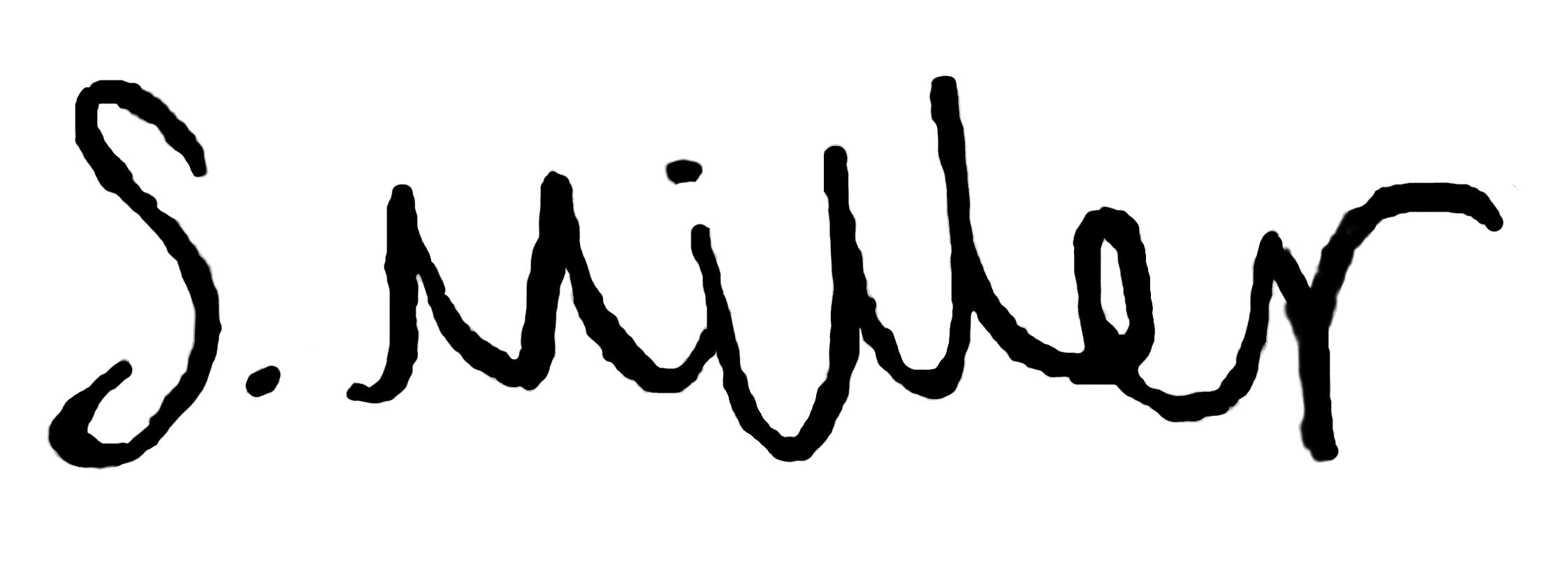 Sophie Miller Signature