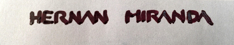 Hernan Miranda Signature