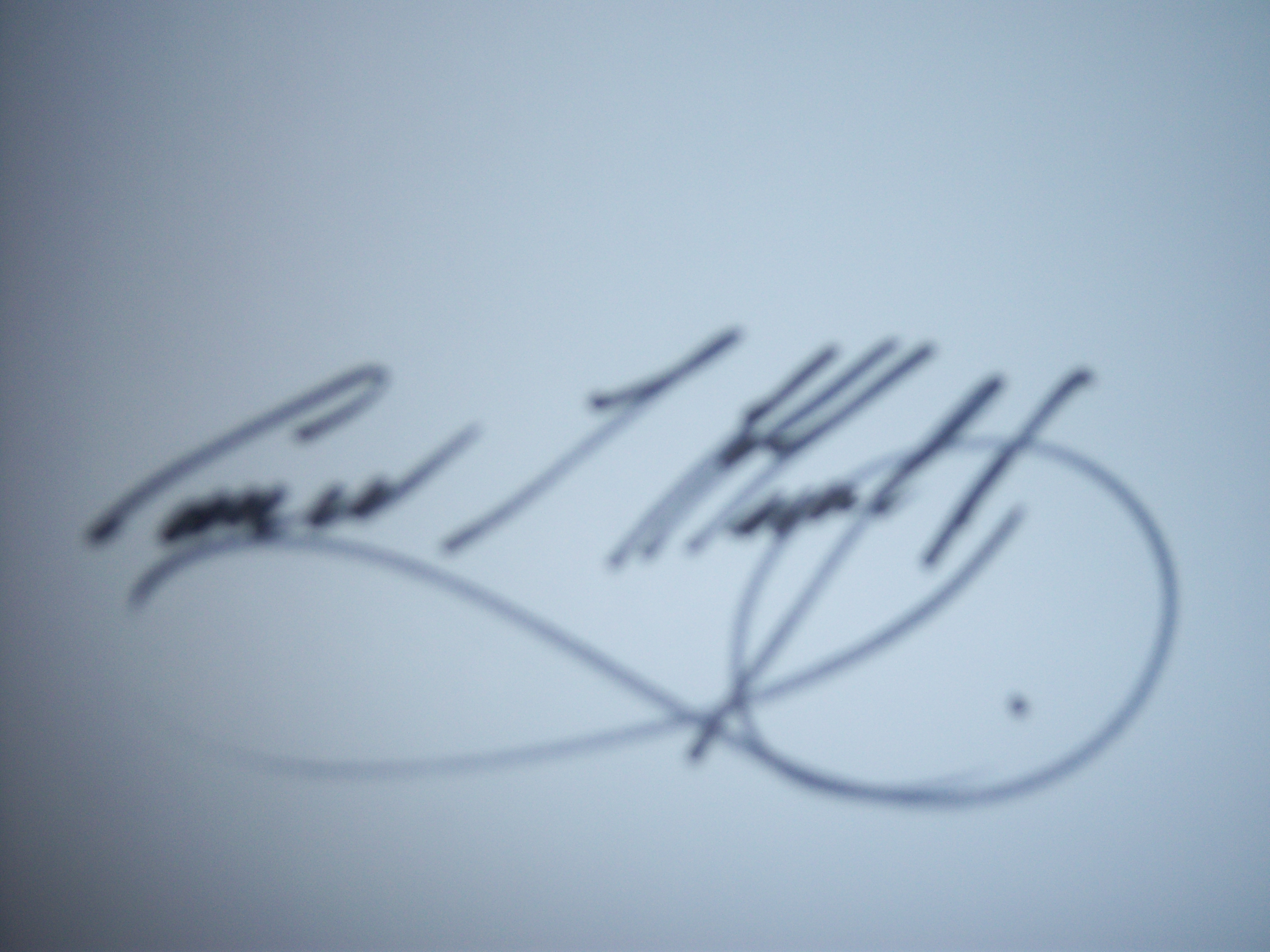 Conor Murphy Signature