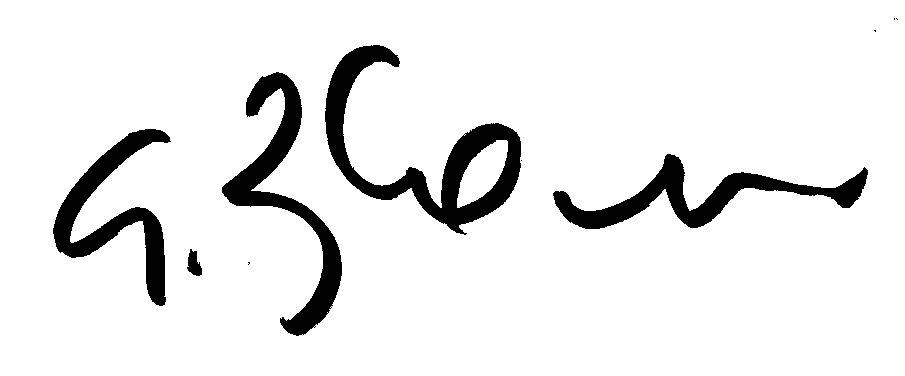 Giuseppe Boscherini Signature