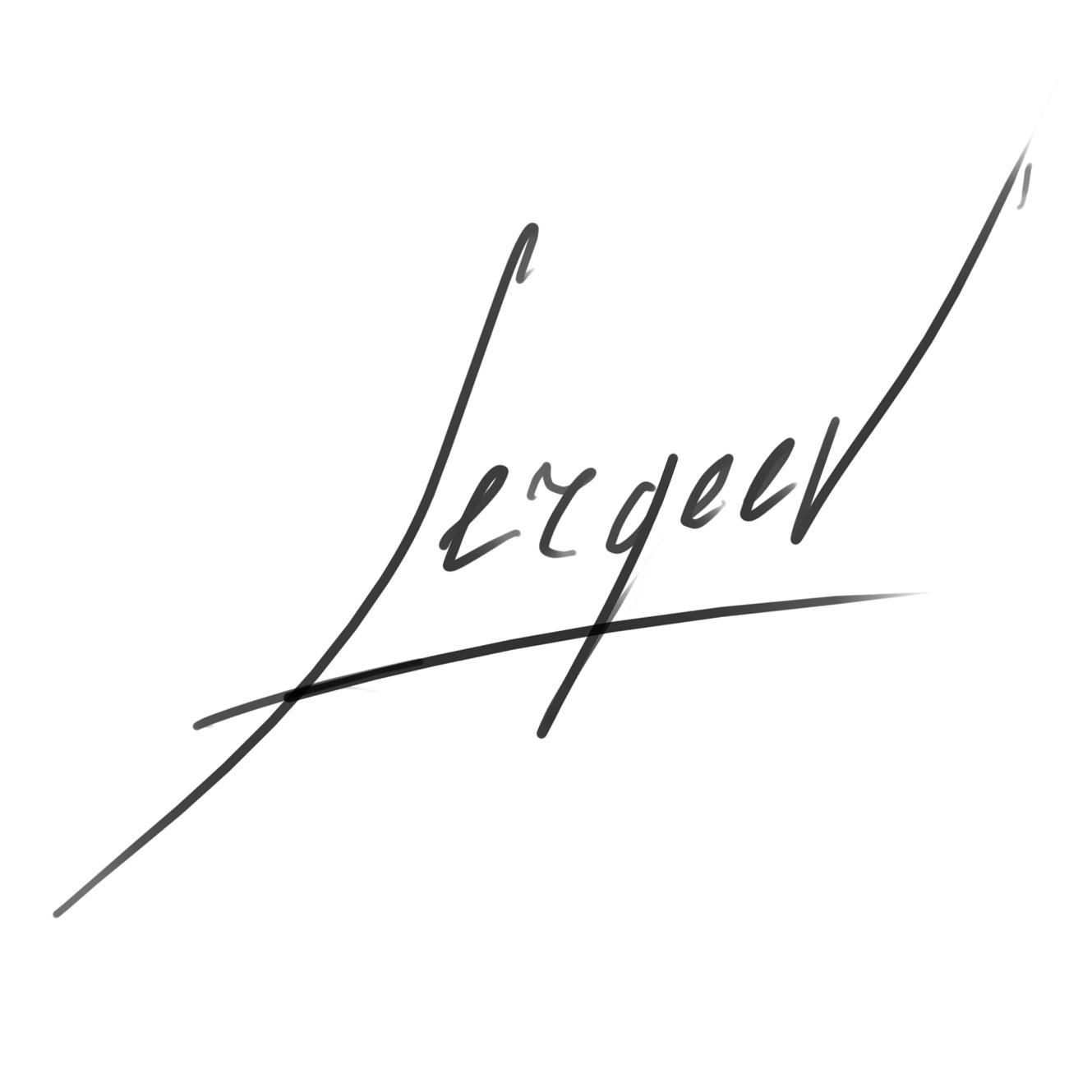 Maxim Sergeev Signature