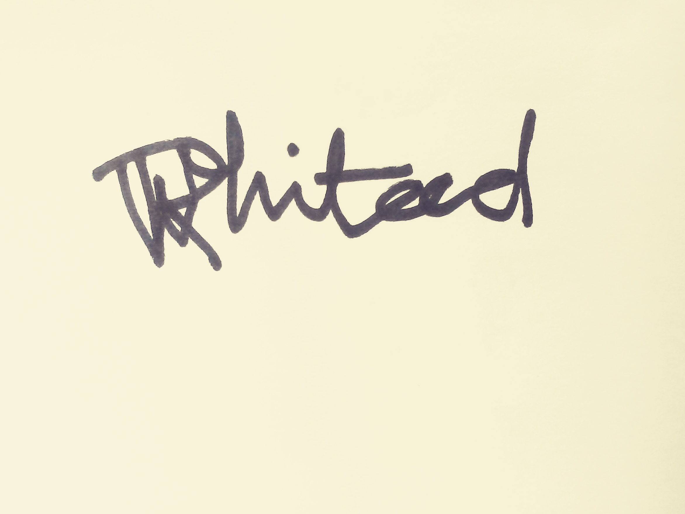 Rebecca Whitewood Signature