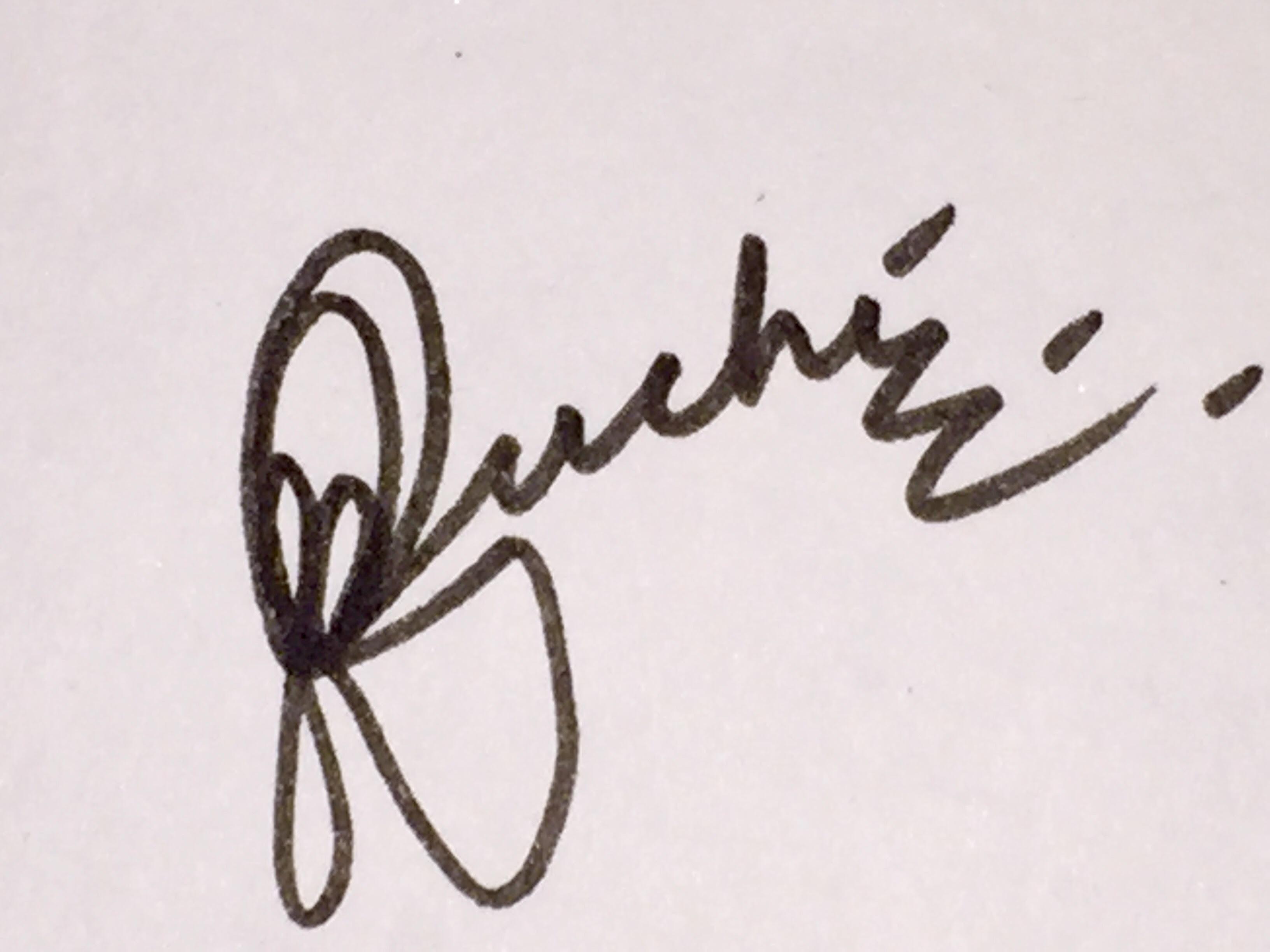 Ruchi Chadha Signature