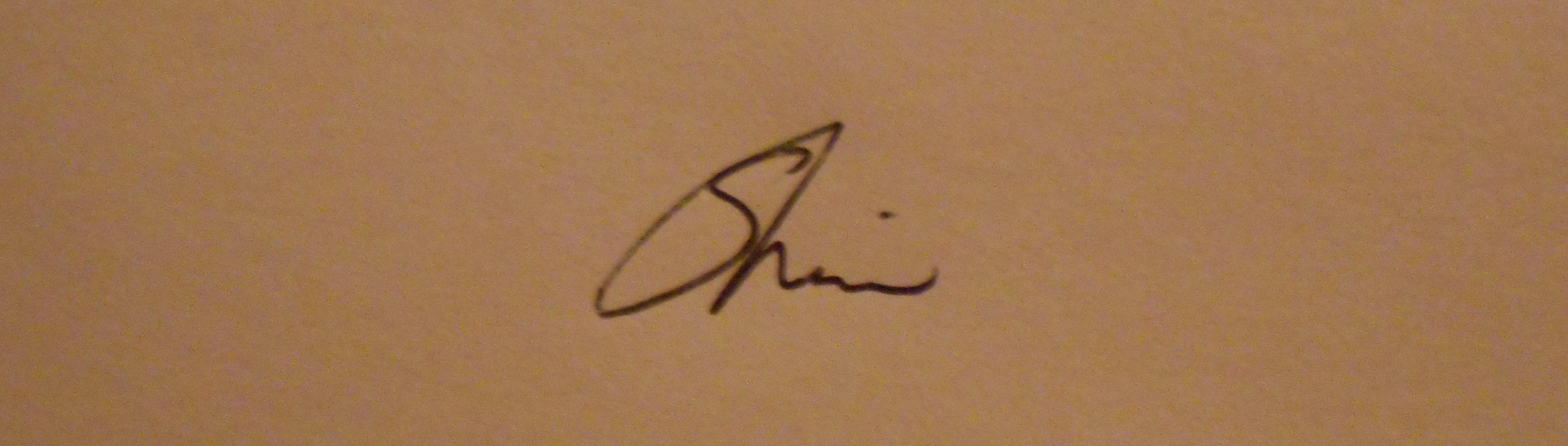 sherin Signature