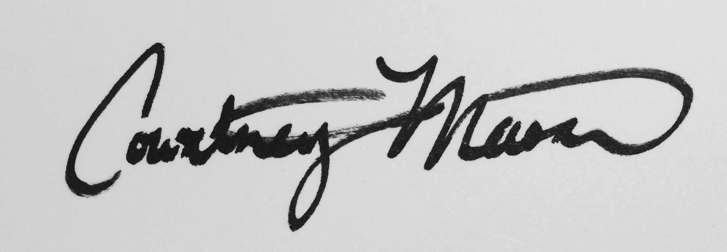 Courtney Mason Signature
