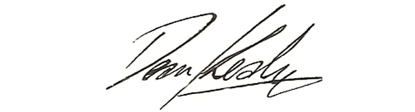 Dean Kealy Signature