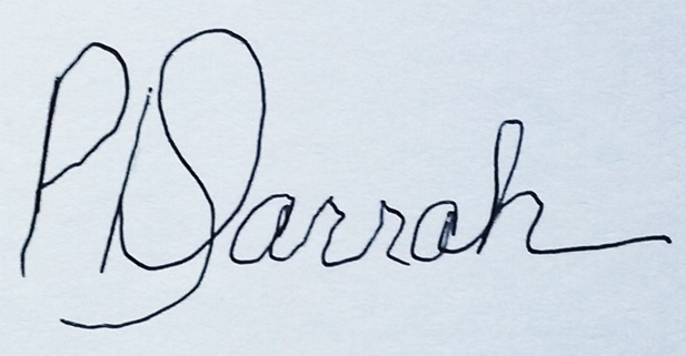 Dusty Darrah Signature