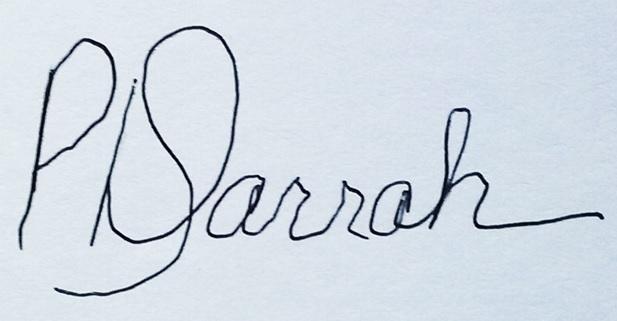 Dusty Darrah Signature