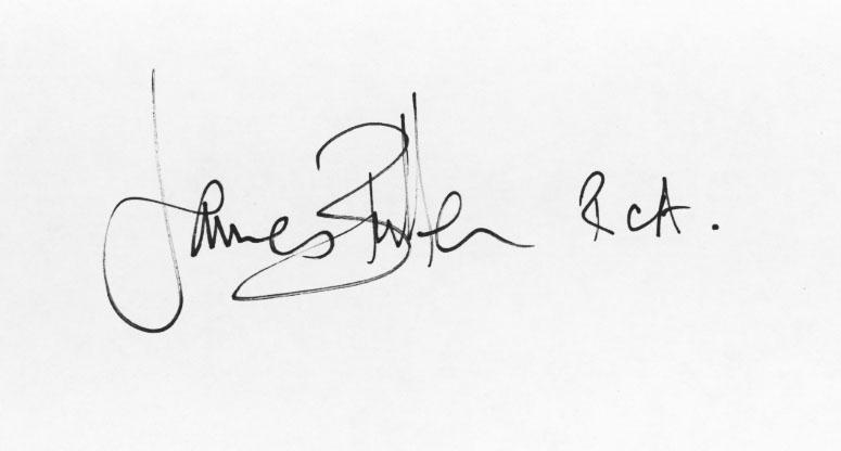 james bullen Signature