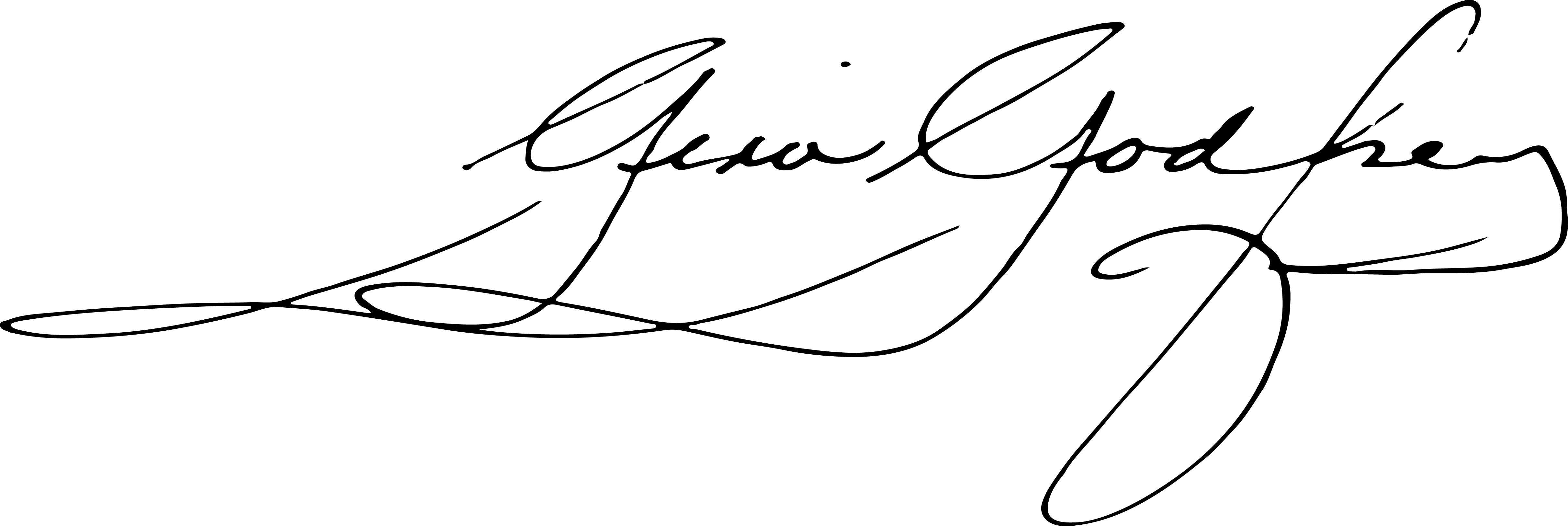 Gina Godfrey Signature