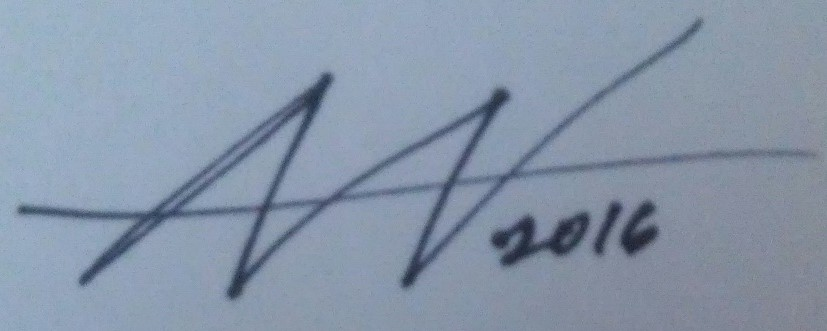 Amy Woolston Signature