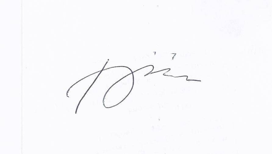 Remegio onia Signature