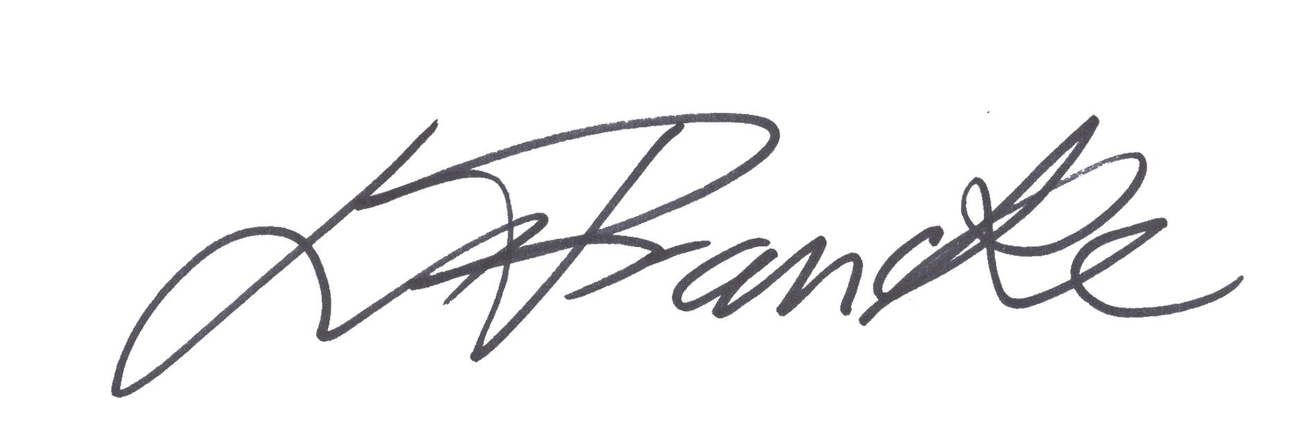 Louise Francke Signature