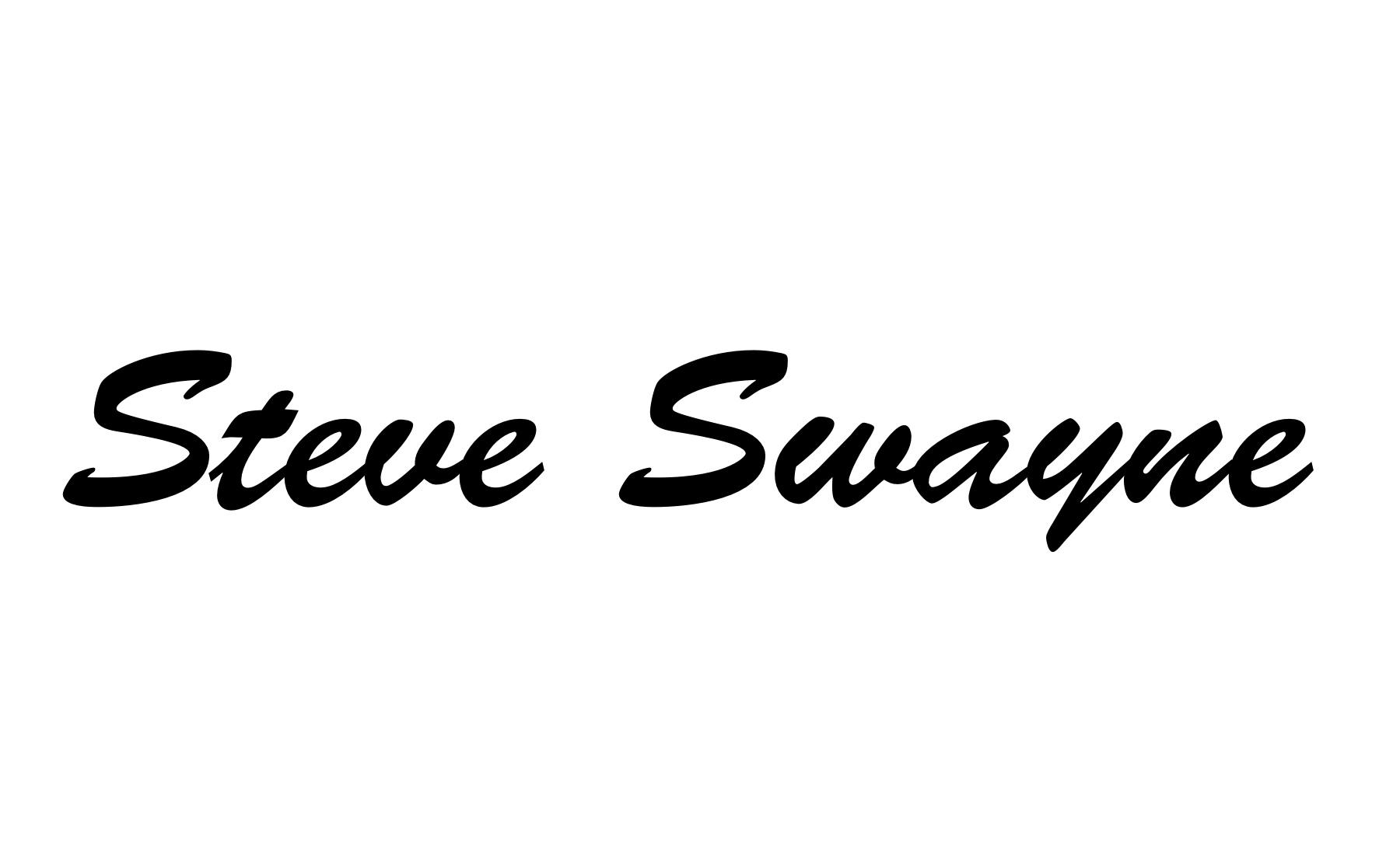 Steve Swayne Signature