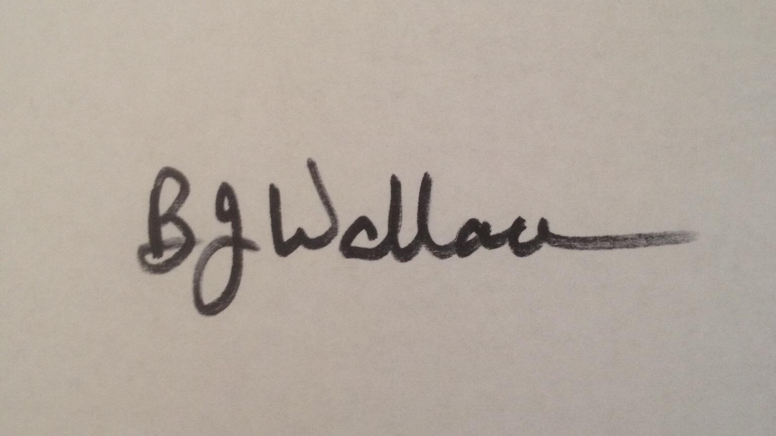 Barbara Wallace Signature