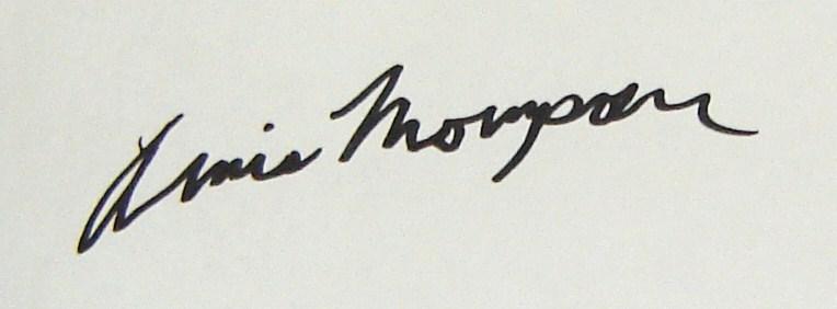 Annis Thompson Signature