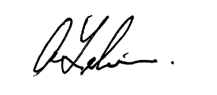 Ab Lelievre Signature