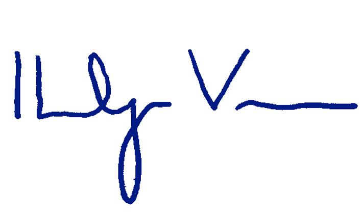 Ibolya Vass Signature