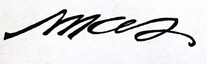 Marie Sabourin Signature