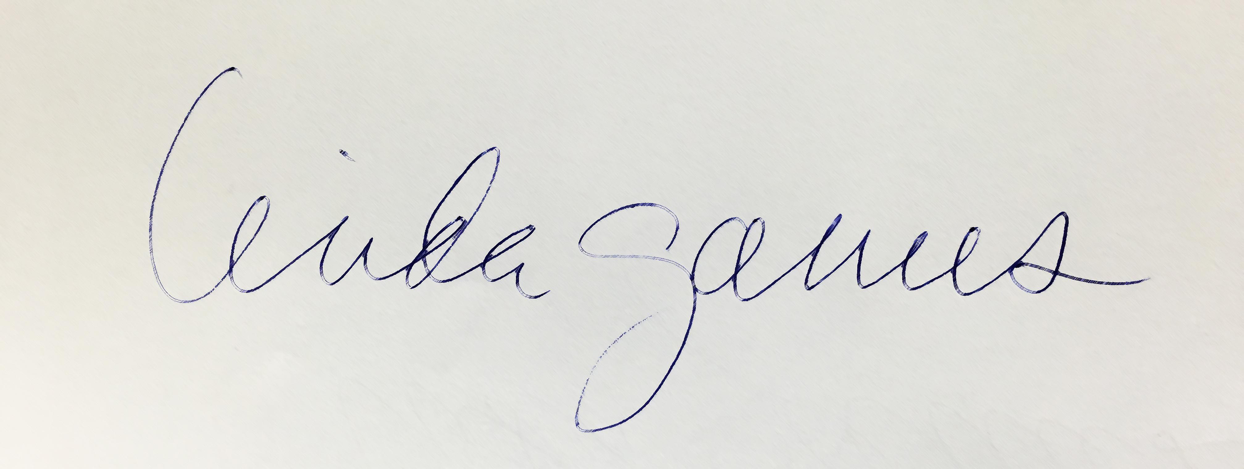 Linda Ganus Signature