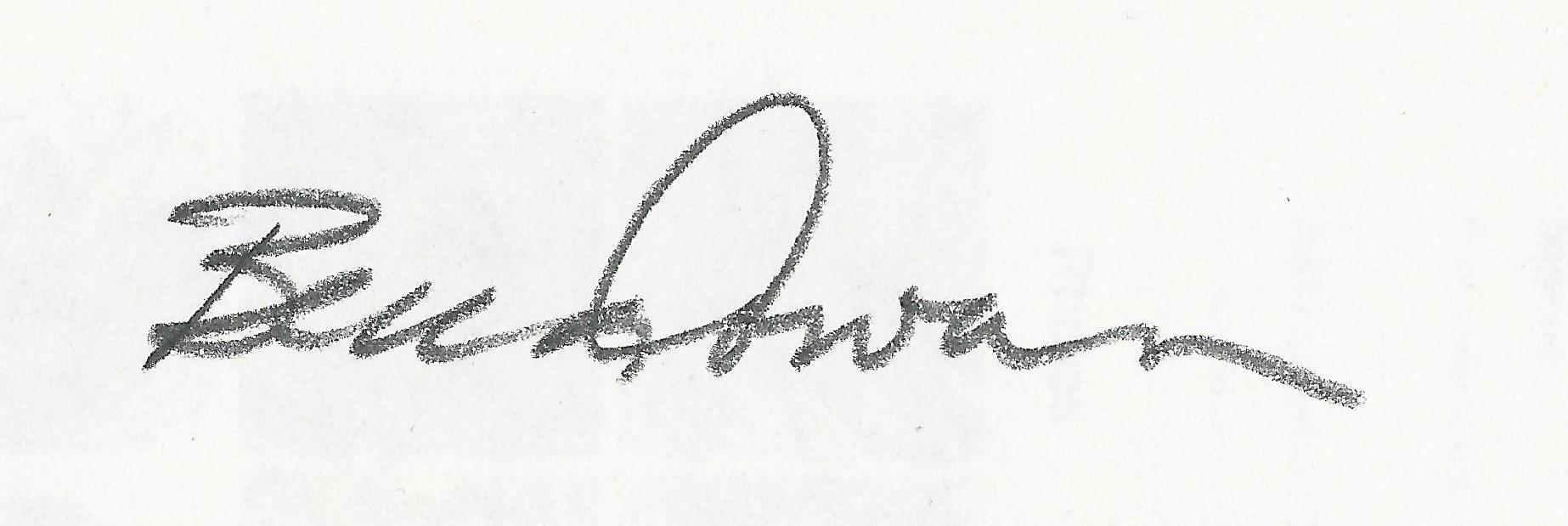 Becca Cowan Signature