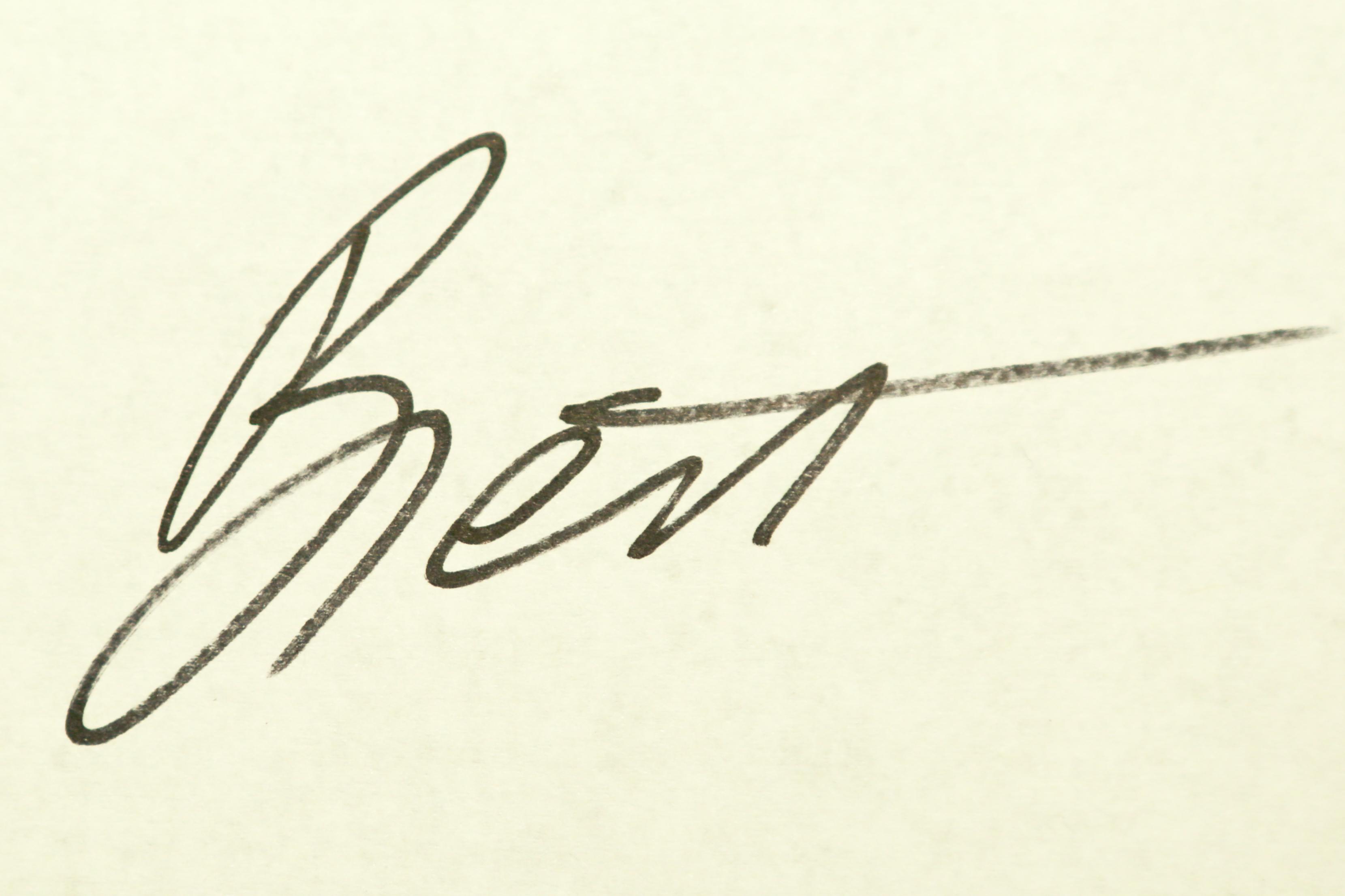 Brett Gorzalski Signature