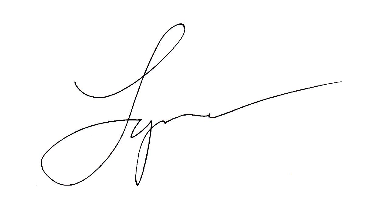 Lynne Furrer Signature