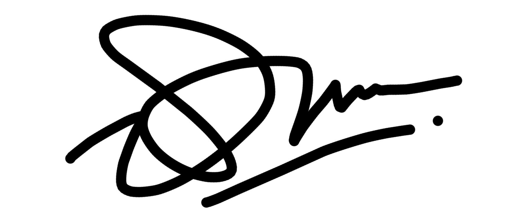 danu yudhistiro Signature