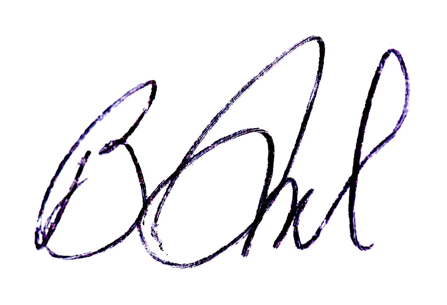 Becky Grassl Signature