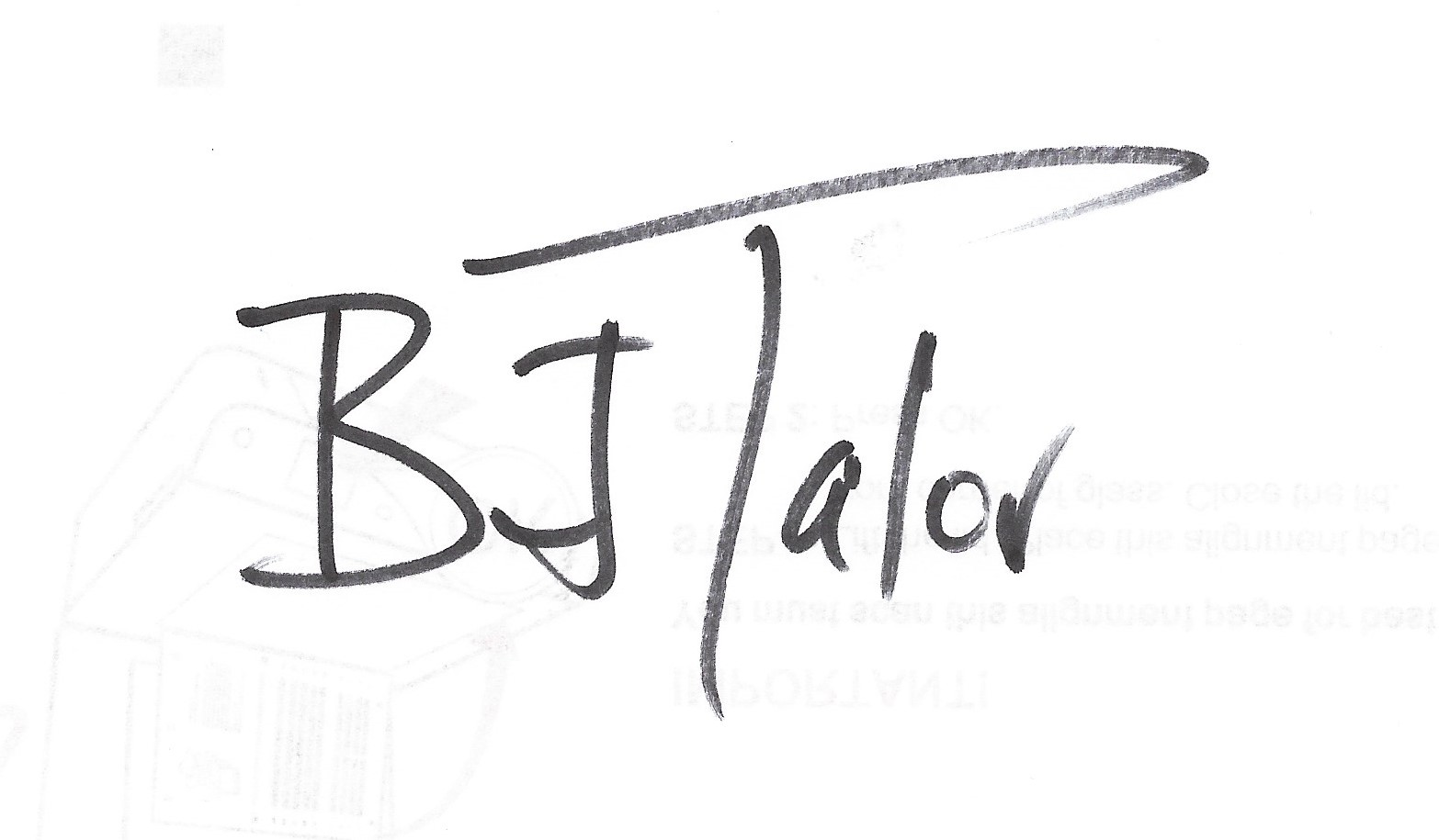BJ Talor Signature