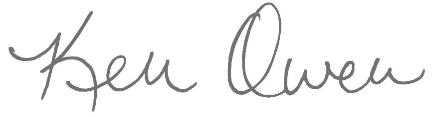 Ken Owen Signature