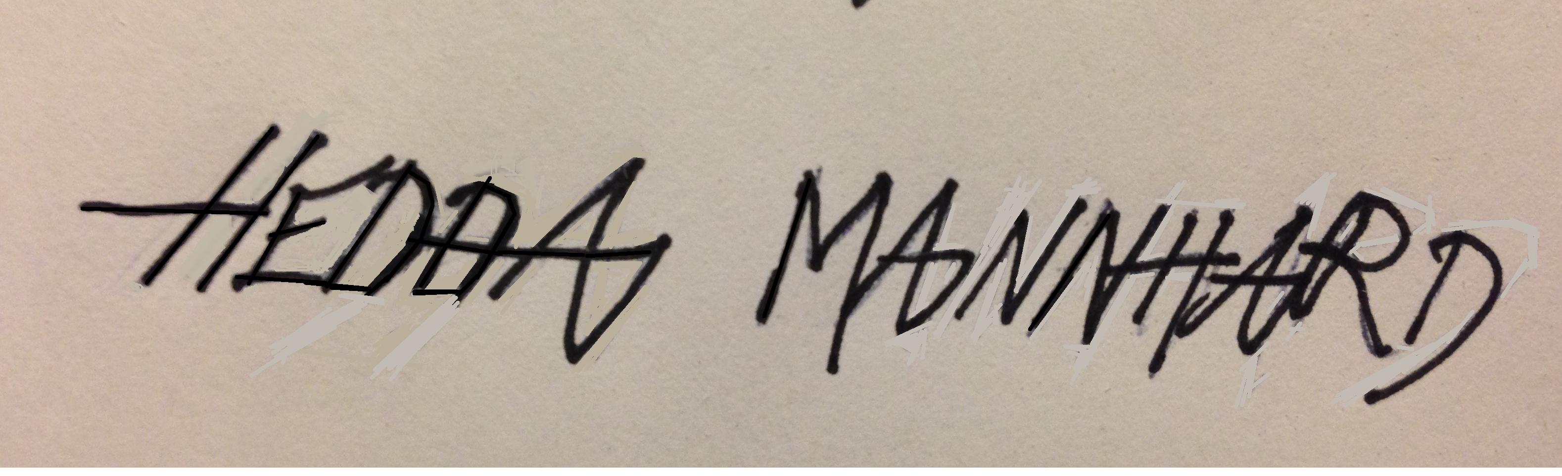 Hedda Mannhard Signature