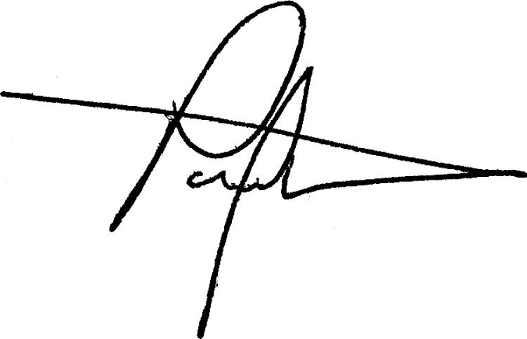 Paul Westermann Signature