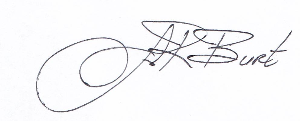 John Burt Signature