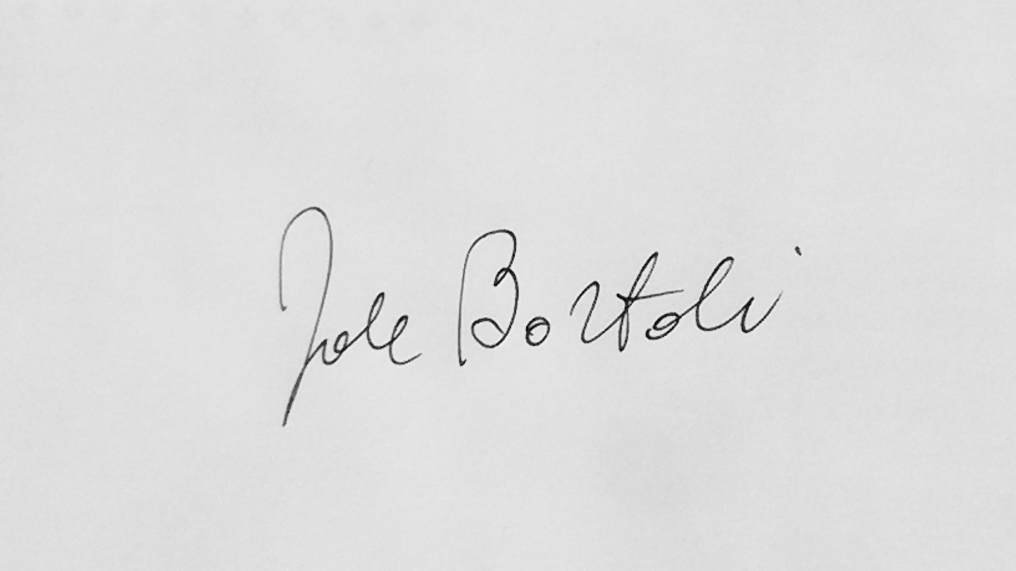 Jole Bortoli Signature
